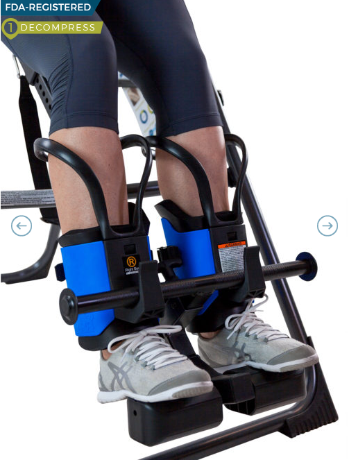 TEETER EZ-UP GRAVITY BOOTS WITH ADAPTER KIT - Relaxacare