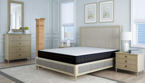"ObusForme ObusEssentials Gel Series 8"" Medium Firm Gel Memory Foam Mattress In A Box - Relaxacare"