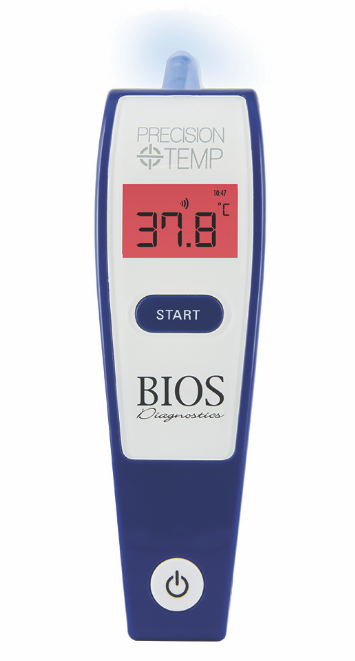 BIOS Precisiontemp Digital Ear Thermometer (w/App)