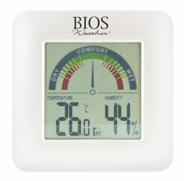 BIOS - Indoor Thermo-Hygrometer with Comfort Scale