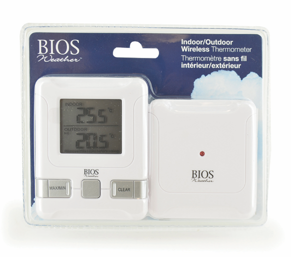 BIOS - Thermor Indoor/Outdoor Wireless Thermometer