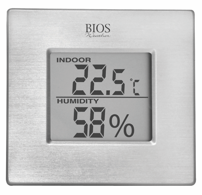 BIOS - Digital Indoor Hygrometer with Temperature