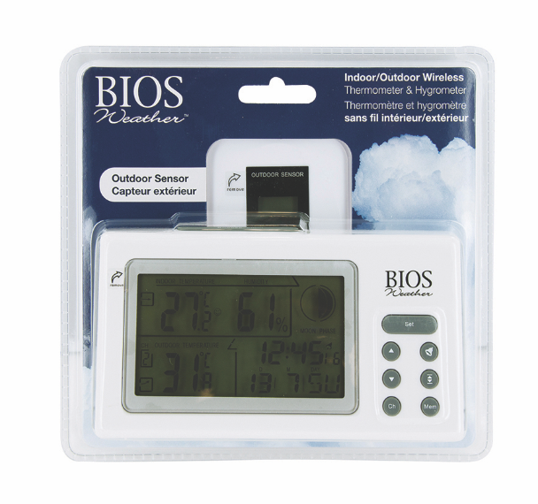 BIOS - Indoor/Outdoor Thermo-Hygrometer