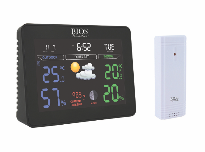 BIOS - Colour Weather Station
