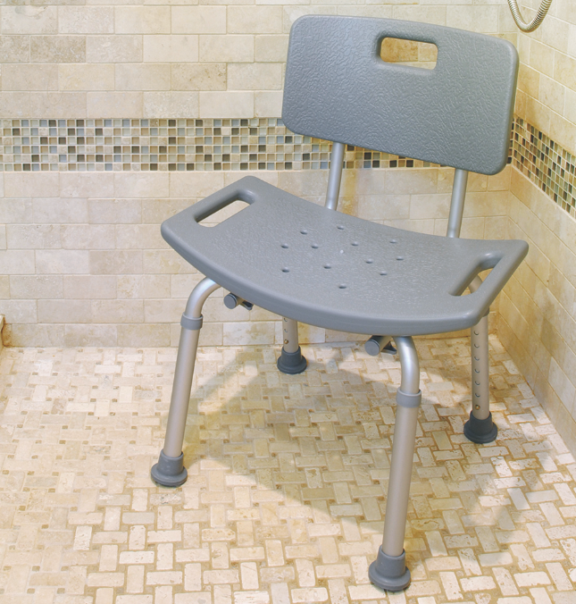 BIOS - Adjustable Bath Bench with Backrest