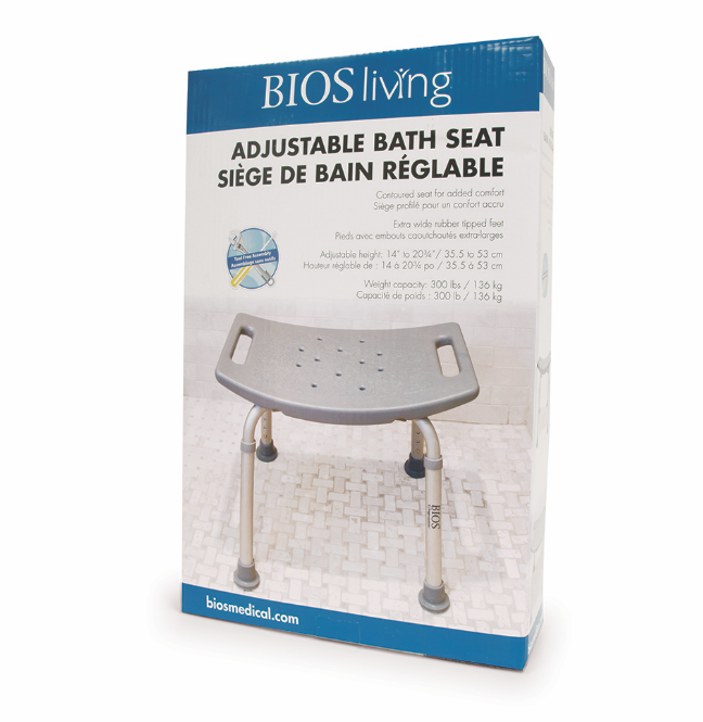 BIOS - Adjustable Bath Bench