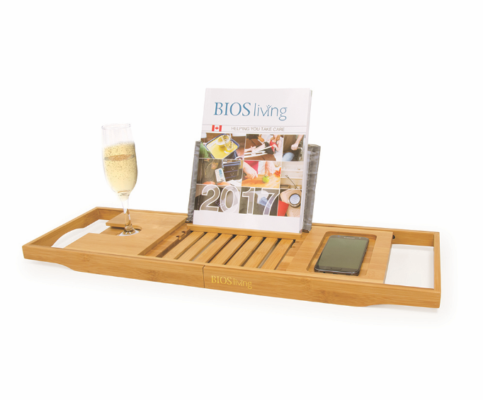 BIOS - Bamboo Bathtub Caddy