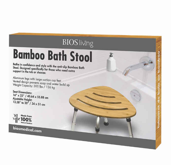 BIOS - Bamboo Bath Stool
