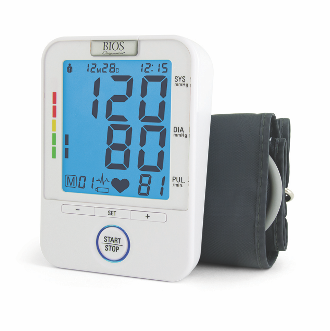 BIOS - Diagnostic Precision Series 6.0 Easy Read Blood Pressure Monitor