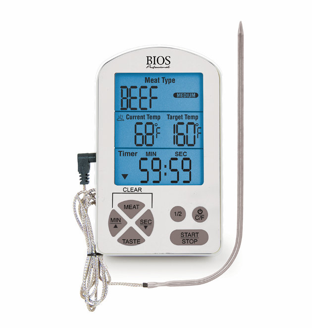 BIOS - Professional Premium Meat Thermometer & Timer