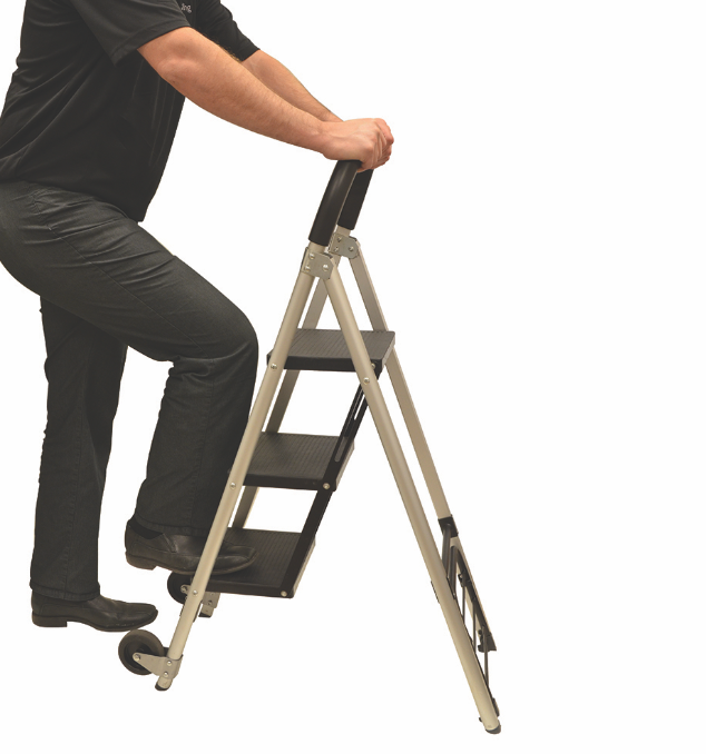 BIOS - 2-in-1 Step Stool Ladder