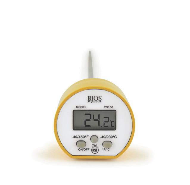 BIOS - Digital Pocket Food Thermometer with Calibration