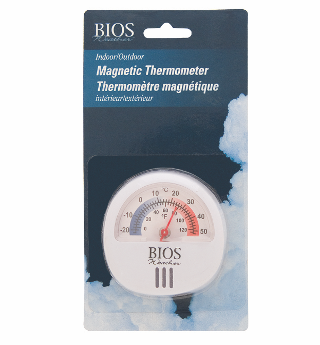 BIOS - Indoor/Outdoor Magnetic Thermometer