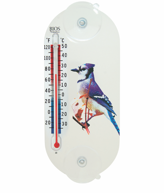BIOS - Indoor/Outdoor Suction Cup Thermometer