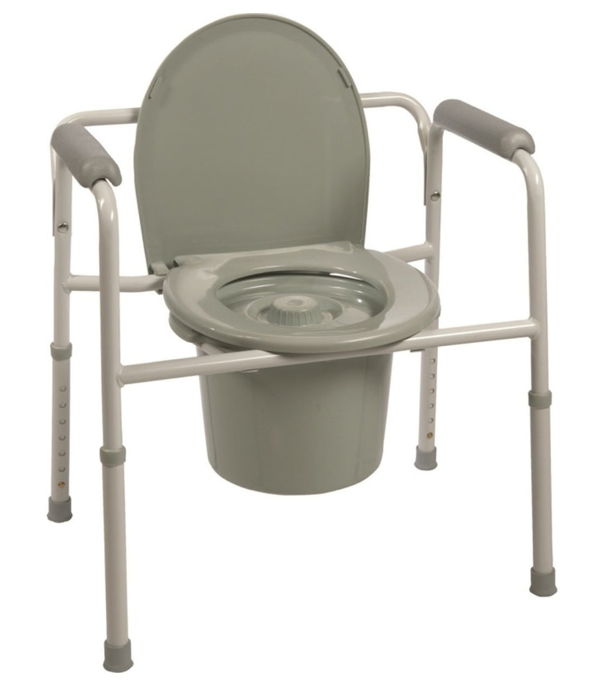 Probasics Three-In-One Steel Commode - Relaxacare