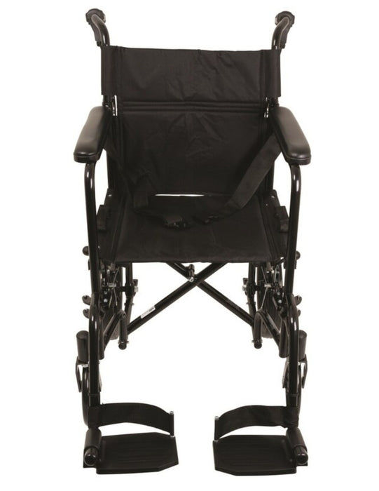 "Probasics Aluminum Transport Chair With 12"" Wheel - Relaxacare"