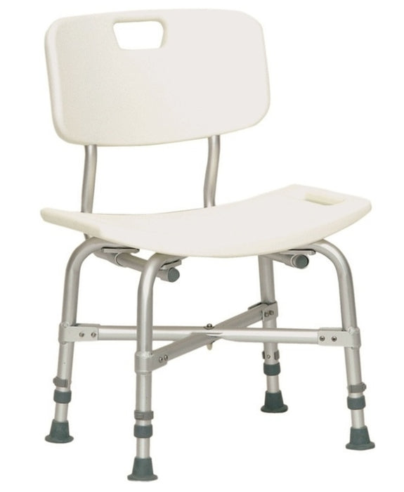 Probasics Bariatric Shower Chair With Back BSBCWB - Relaxacare