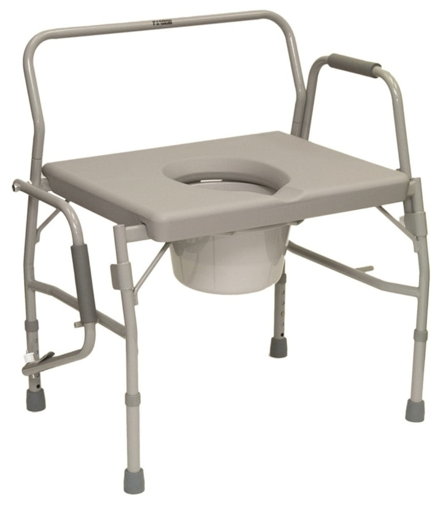 Probasics Heavy Duty Drop-Arm Commode  - Relaxacare