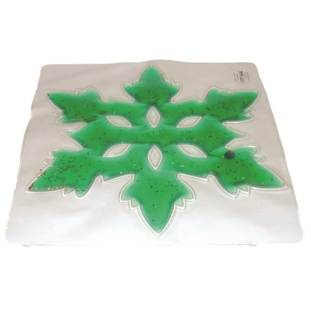 Skil-Care 912447G Light Box 6 Spoke Snow Flake Gel Pads - Green