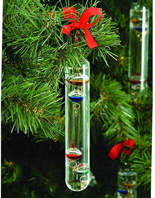 Limited time Christmas item-Bios Hanging Galileo Thermometer - 6inch