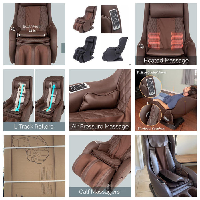 -Demo units-- truMedic InstaShiatsu+ MC-750 Massage Chair - Relaxacare