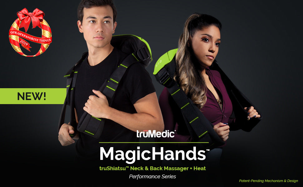 MagicHands™ truShiatsu™ Neck and Back Massager - Relaxacare