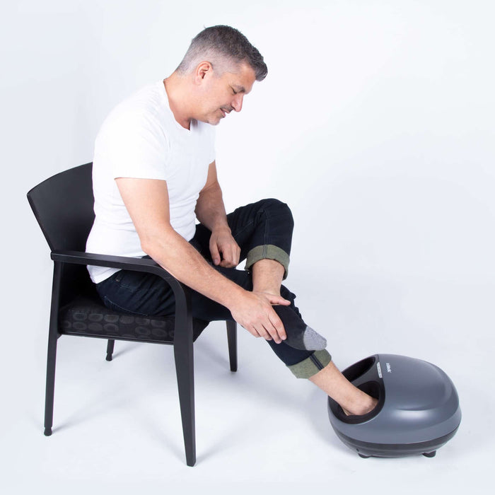 truShiatsuPRO Foot Massager with Heat by TruMedic - Relaxacare