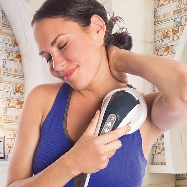 InstaShiatsu+ Handheld Percussion Massager - Relaxacare