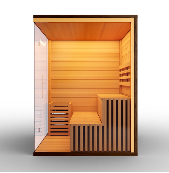 Traditional 8 Plus Steam Sauna-Fully loaded-