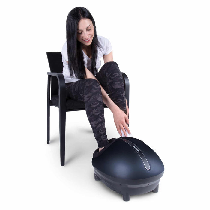 -Demo unit-TruMedic 2020 model-IS-4000 Pro Foot Massager with Heat - Relaxacare