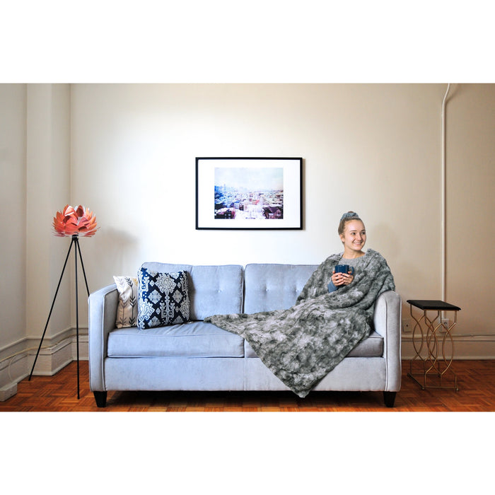 -Top RateHOMEDICS Cordless Throw & Cape with Soothing Heat & Vibrating Massage