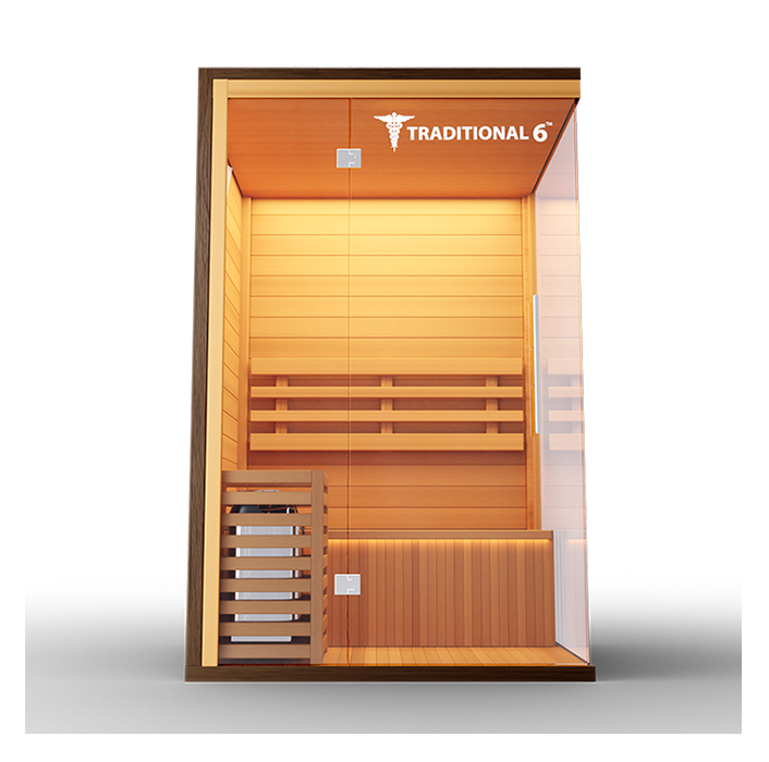 Traditional 6 Steam Sauna 2 person