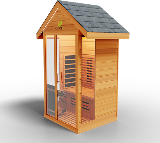 Hybrid Nature 5 Steam/Infared Outdoor sauna
