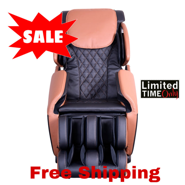 OBUSFORME 4d SL track Massage Chair 500 series with colour therapy