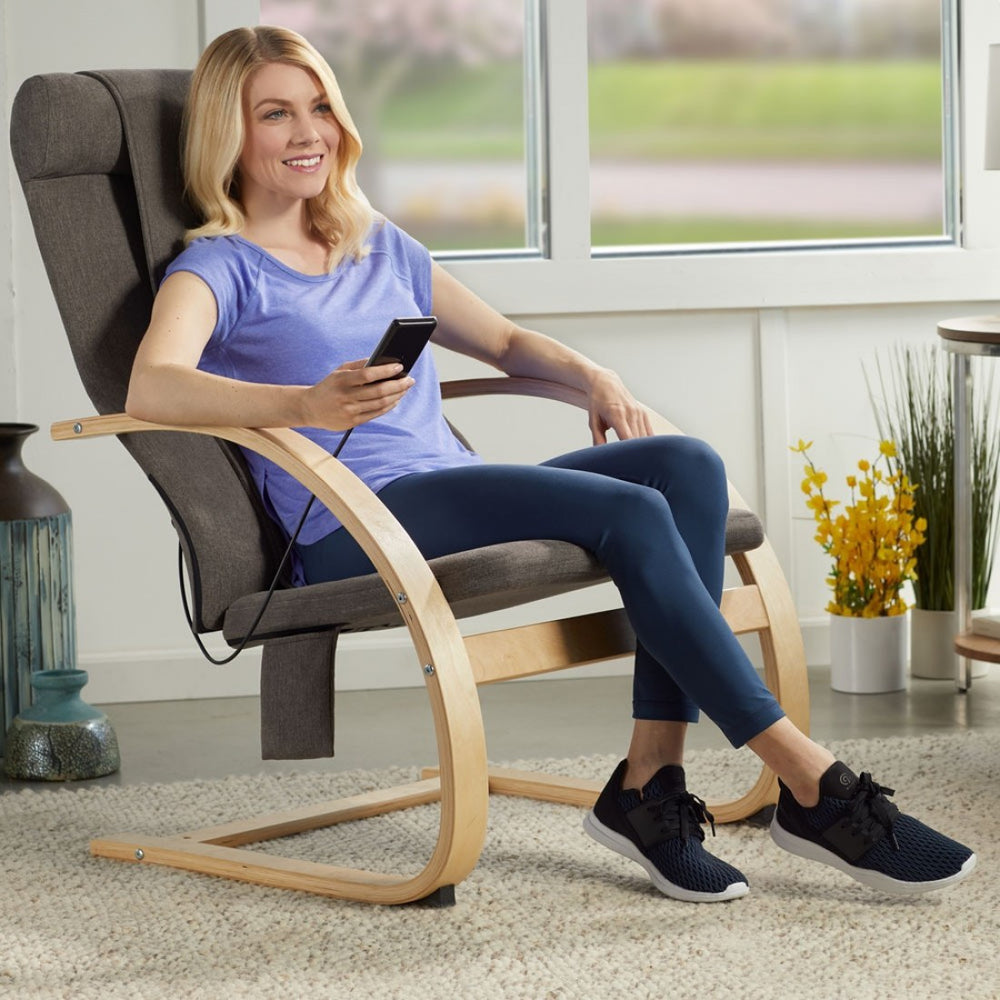 HoMedics 3D Shiatsu Massaging Lounger - Relaxacare