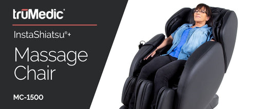 -Lowest Price in Canada-TruMedic MC-1500 Massage Chair with L track