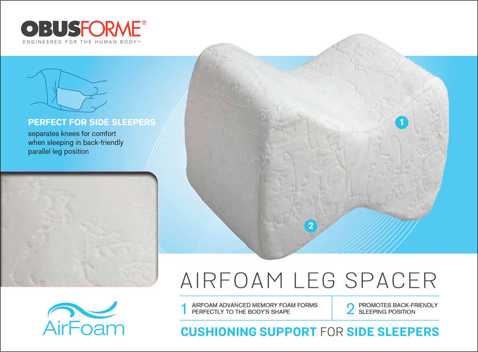 Obusforme AirFoam Leg Spacer Cushion - Relaxacare