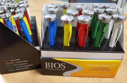 BIOS -15 Piece Display of DT170 with 5 Different Colour Sleeves