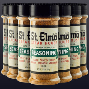 Case of St. Elmo Steak House Seasoning