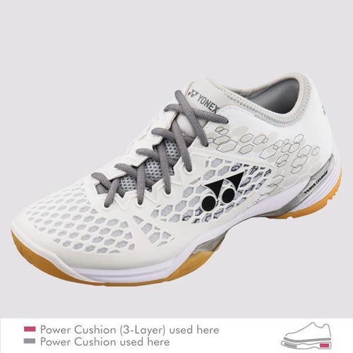 YONEX POWER CUSHION 03Z MEN'S COURT SHOES [WHITE]