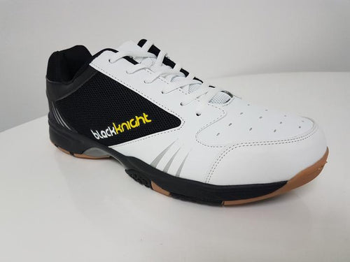 BLACK KNIGHT REACTOR X8 COURT SHOE [WHITE]