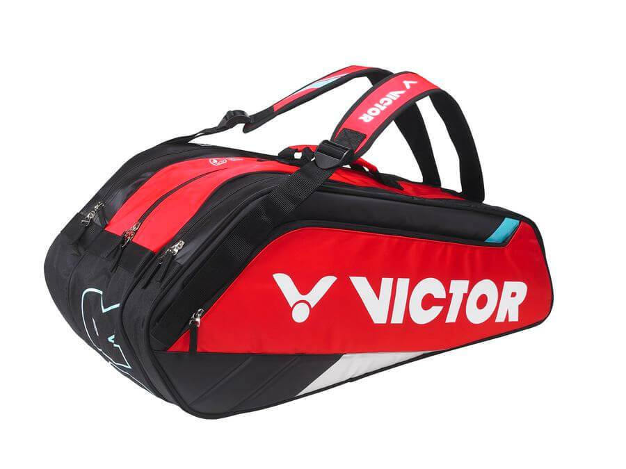 VICTOR BR8309-DC BADMINTON BAG [BLACK/RED]