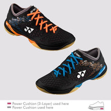 Load image into Gallery viewer, YONEX 2017 POWER CUSHION 03Z LCW MEN'S COURT SHOES [BLUE/ORANGE]