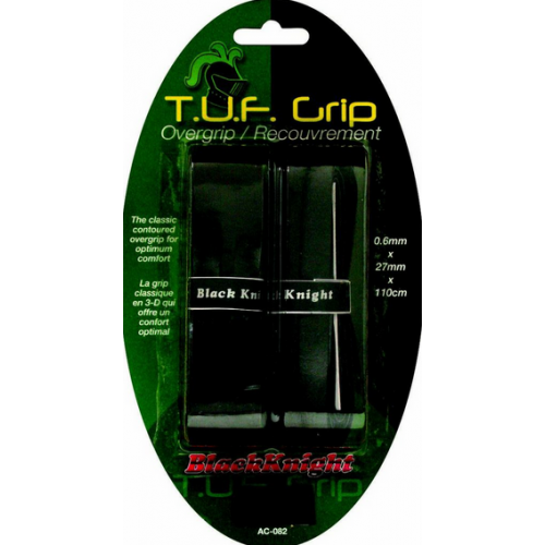 BLACK KNIGHT T.U.F GRIP - OVERGRIP [2/PKG]
