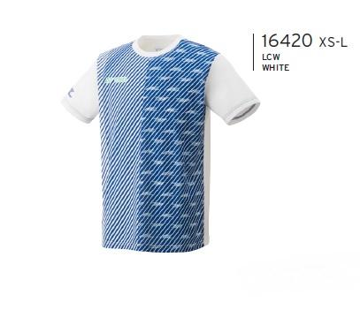 YONEX 16420EX LEE CHONG WEI REPLICA GAME SHIRT [WHITE]