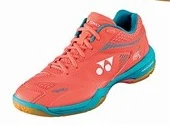 YONEX POWER CUSHION 65Z 2 LADIES COURT SHOES [CORAL ORANGE]