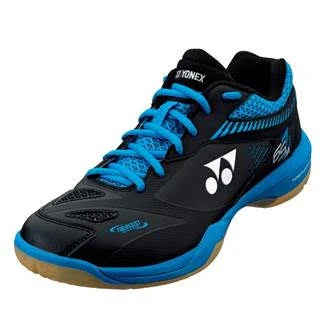 YONEX POWER CUSHION 65Z 2 COURT SHOES [BLACK/BLUE]