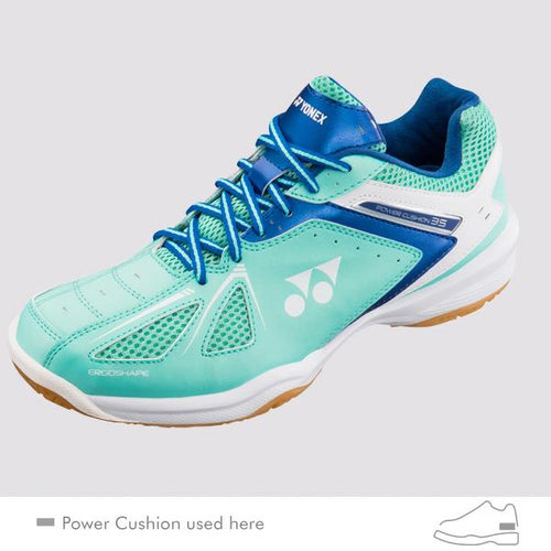 YONEX POWER CUSHION 35 LADIES COURT SHOES [MINT]