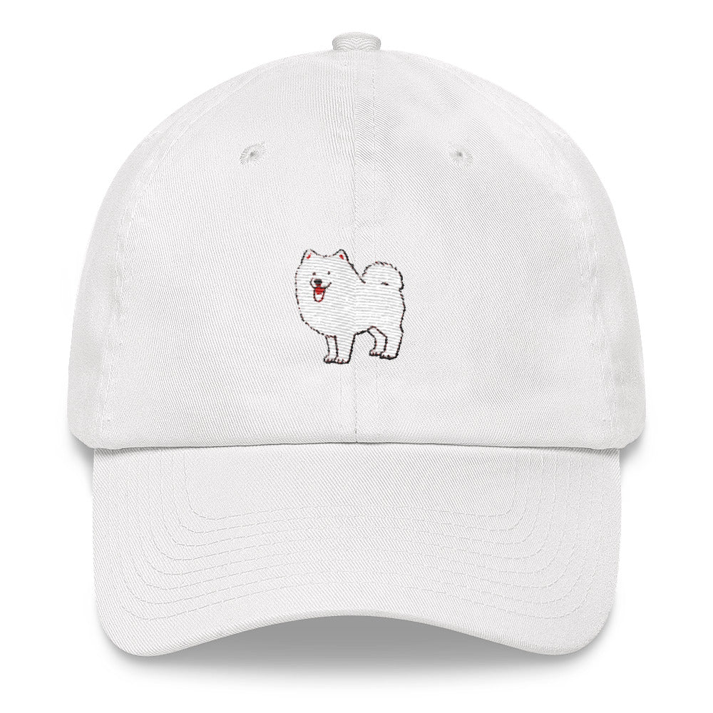 Samoyed Embroidered Cap