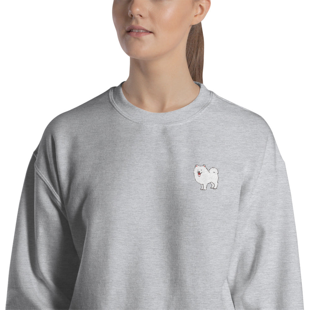 Samoyed Embroidered Sweatshirt